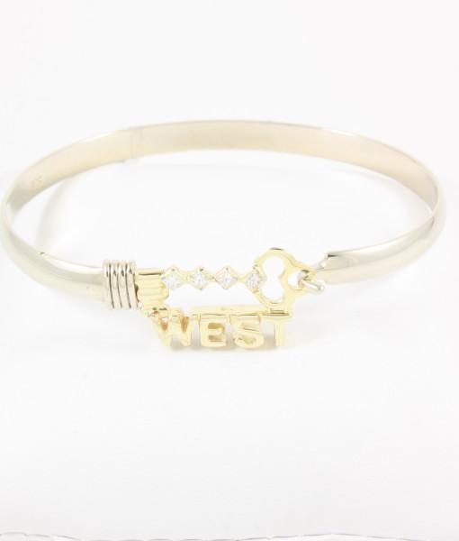 Key West Gold & Dimond Bracelet