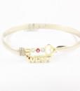 Key West Gold & Ruby Bracelet