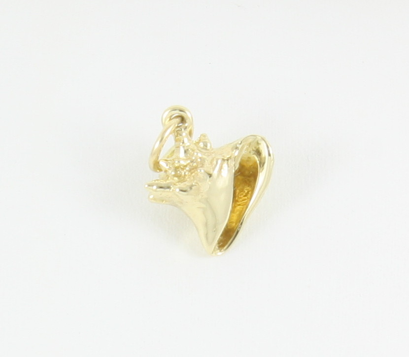 Conch shell 3d 14k neptune designs custom jeweler for Key west jewelry stores