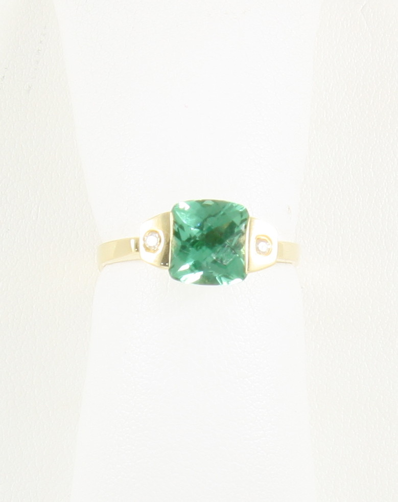 2 7 carat green spinel ring neptune designs custom for Key west jewelry stores