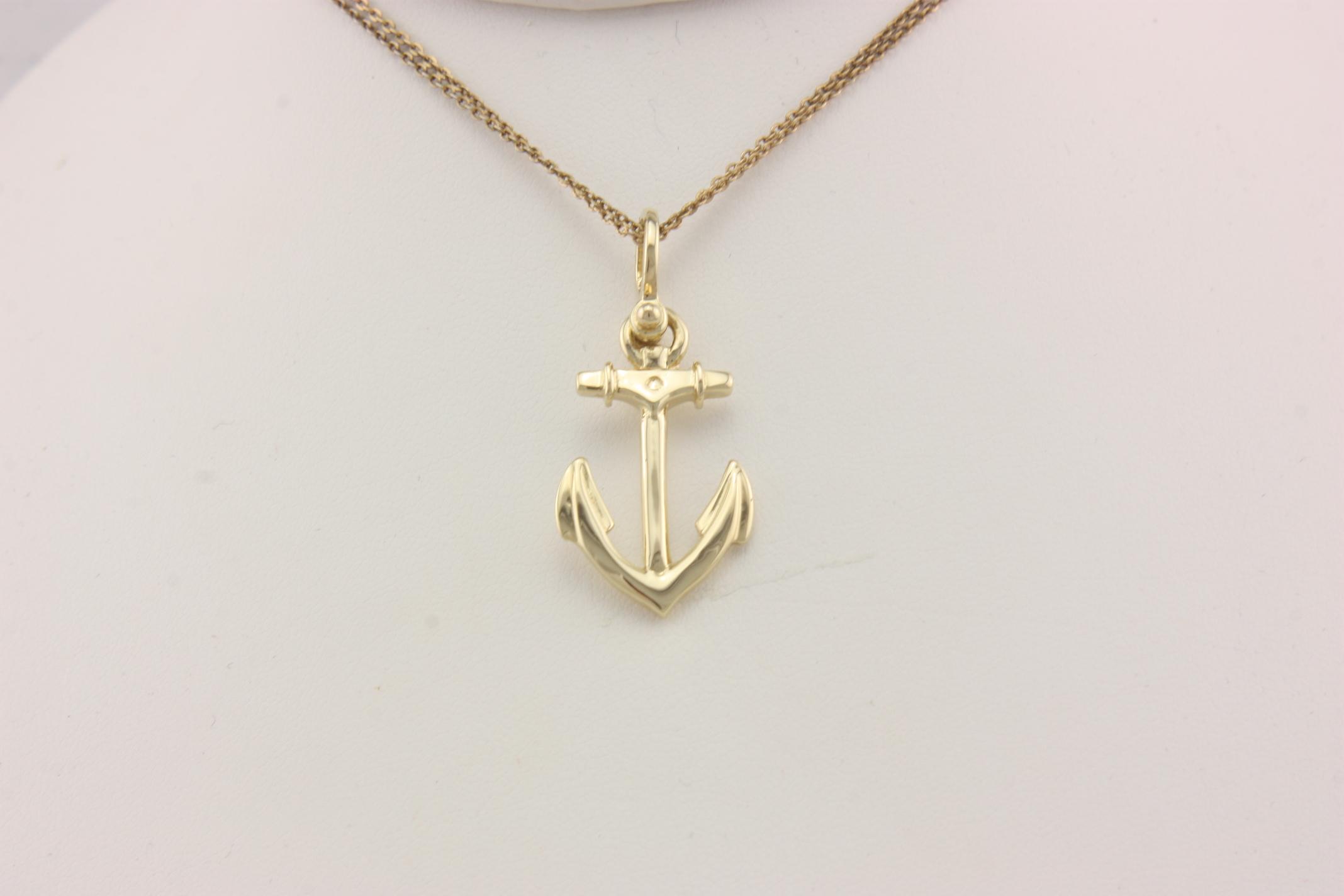 3d anchor 14karat neptune designs custom jeweler for Key west jewelry stores