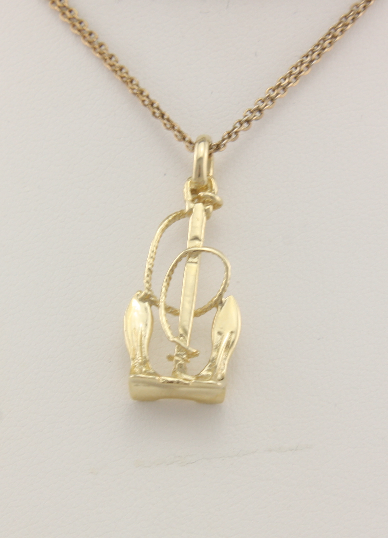 Sand anchor with rope 14karat neptune designs custom for Key west jewelry stores