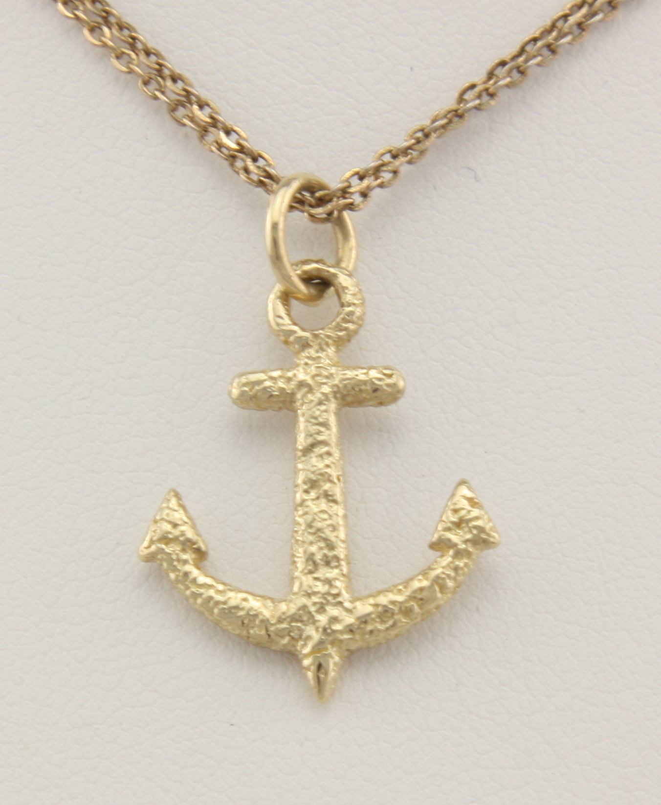 Speckled anchor 14karat neptune designs custom for Key west jewelry stores